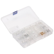 1 Clear Box With 15 Types Diffirent Nose Pads For Eyeglasses Glasses