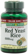 Nature's Bounty Red Yeast Rice 600mg, 120 Capsules