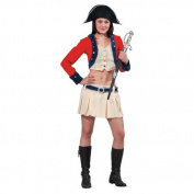 Dress up America Sexy Colonial Soldier Costume Set