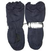 elemar - Baby Toddler shaft gloves boys and girls, dark blue