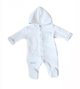 "UNISEX Baby Grow/Sleep Suit With Hood ""BEAR HUG"""