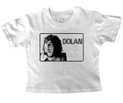 Marc Bolan (Smile) Baby T Shirt
