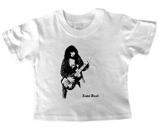 Kate Bush with Bass Guitar Baby T Shirt