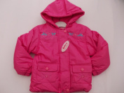 BNWT babies girls winter padded coat anorak from 6 to 23 nonths.FREE U.K POST