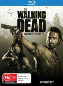 The Walking Dead: Season 1-4 [Region B] [Blu-ray]