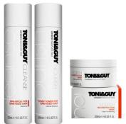 Toni & Guy Cleanse & Nourish SHAMPOO, CONDITIONER & RECONSTRUCTION MASK For DAMAGED Hair