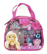 Barbie Time To Shine Fashion Tote 13-Piece Make-Up Set