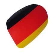 Chix Nails Nail Wraps German Flag Germany Black Red Gold Bundesflagge Fingers Toes Vinyl Foils Minx Trendy Style