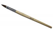 Effect Beauty Kolinsky Acrylic Nail Brush with Wooden Handle Size #14