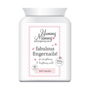 YUMMY MUMMY PREGNANT FAB FINGERNAILS PILL STOP BRITTLE BREAKING CHIPPED NAIL