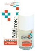 Nail Tek Foundation II Ridge Filling Nail Strengthener for Soft Peeling Nails 15ml by Nail Tek [Beauty]
