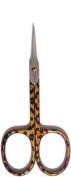 Credo Solingen Tower Point Cuticle Scissors Satin Chromium Plated Africa Design
