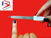 Beauty Track New Diamond Deb Foot Skin & Nail File Steel Podiatry Chiropody White