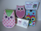 CUTE OWL DESIGN TRAVEL PACK
