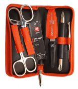 Zwilling Manicure zipper pouch 5-piece orange
