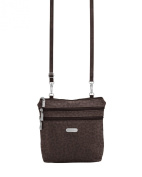 Baggallini Messenger Bag ZPC369CHES Brown