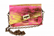 HiveBag Women's Shoulder Bag Rosa-Gold 19x13x3