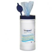 Bioguard Heavy Duty Disinfectant Wipes - 200 x 200mm - Tub 150