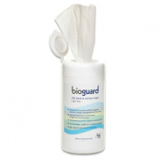 Bioguard Light Duty Disinfectant Wipes - 130 x 130mm - Tub 200