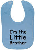 I'm The Little Brother Baby Feeding Bib Velcro Attached 0 to approx 3 Years