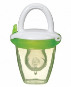 Munchkin Silicone Baby Food Feeder For Babies Tasting Pureed Foods For The First Time, Green