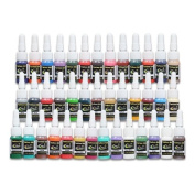 Tattoo Ink Tattoo Supplies 40 Colour inks 5ml/bottle Complete Set Supply SL125UKYMX