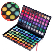 TIMETOP 120 Colour Eyeshadow Palette Eye Shadow Makeup Kit Set Make Up Professional Box