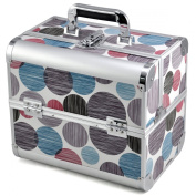 chinkyboo New Arrival Print Spot Beauty Box Make Up Rose Vanity Case Cosmetic Nail Jewellery Case