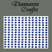 169 x 4mm Dark Blue Diamante Self Adhesive Rhinestone Body Vajazzle Gems - created exclusively for Diamante Crafts