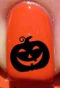 Halloween Happy Pumpkin - Nail Decals by YRNails
