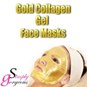 5 X Gold Bio Collagen Crystal Face Mask