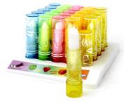 50 x Lip Balm Lipstick Lipgloss Fruity Wholesale Mixed Flavours JOB LOT UK