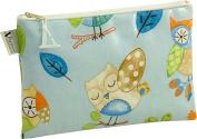 Vagabond Olly Owl Oil Cloth Large Cosmetic Toiletries Bag