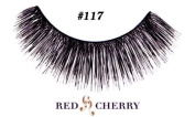 Red Cherry 100% Human Hair Eyelashes #117