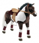 Happy People - Cowboy Horse with Sound 80cm standing