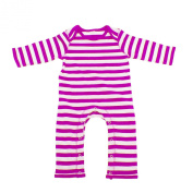 Babybugz Baby Stripy Rompasuit / Baby And Toddlerwear