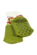 Sock Leopard (anti-slide coating) for small active children during standing and walking. Size:12-24 Months , Colour
