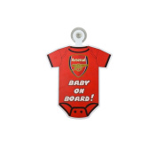 Arsenal FC Kit Baby on Board Car Sign