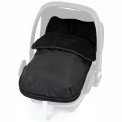 iSafe Buddy Jet Carseat Footmuff - Black
