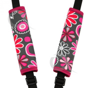 Harness Seat belt Strap Covers padded UNIVERSAL New Reversible
