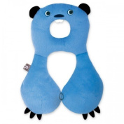 Benbat Travel Friends Beaver Headrest for 4-8 Years Kids - Blue