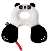 Benbat Travel Friends Headrest for 0-12 Months Panda Black & White - New