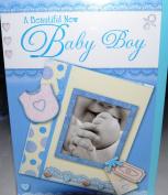 Baby Boy Card for New Birth