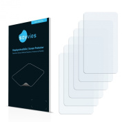 6x Savvies SU75 UltraClear Screen Protector for GolfBuddy PT4