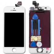 For White iPhone 5 5G Touch Screen digitizer and LCD Display Repair Replacement with tools and adhesive