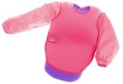 Bibetta Sleeved Plain Pink Bib