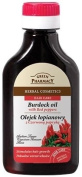 Natural Burdock Root Oil with Red Peppers For Hair & Scalp