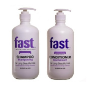 FAST Hair Growth Shampoo and Conditioner LARGE LITRE SIZES No Sulphates, Parabens