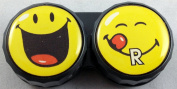 Smiley World Flat Contact Lens Storage Cases - Huge Selection Available