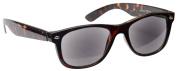 Sun Readers Reading Glasses Sunglasses +3.50 Strength Mens Womens Unisex Wayfarer Style UV400 Brown Tortoiseshell UV Reader UVSR007 Inc Case